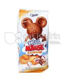 Produktabbildung: Choceur Milch MÄUSE & Caramel 210 g