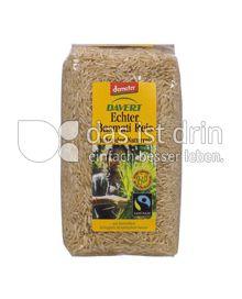 Produktabbildung: Davert DEMETER Echter Basmati-Reis, braun 1 kg
