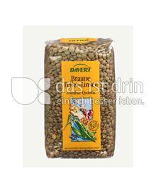 Produktabbildung: Davert Braune Teller-Linsen 500 g