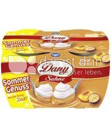 Produktabbildung: Danone Dany Sahne Pfirsich-Maracuja 4 St.
