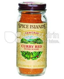Produktabbildung: Spice Islands Curry Red 38 g