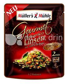 Produktabbildung: Müller's Mühle Gourmet Balsamico Linsen mit zartem Gemüse 250 g