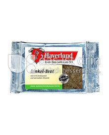 Produktabbildung: Haverland Dinkelbrot mit Olivenöl 250 g