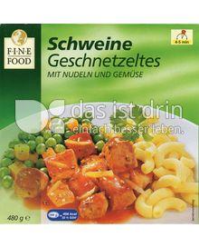Produktabbildung: Fine Food Schweinegeschnetzeltes mit Nudeln und Gemüse 480 g