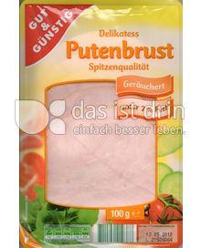 Produktabbildung: Gut & Günstig Delikatess Putenbrust Spitzenqualität 100 g