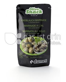 Produktabbildung: Dumet Olive Snack mit Knoblauch Marinade 125 g