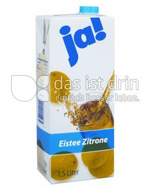 Produktabbildung: Ja! Eistee Zitrone 1,5 l