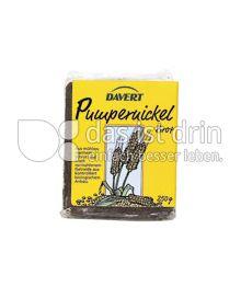 Produktabbildung: Davert Pumpernickel 250 g