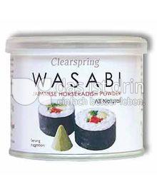 Produktabbildung: Clearspring Wasabi Japanese Meerrettich Pulver 25 g