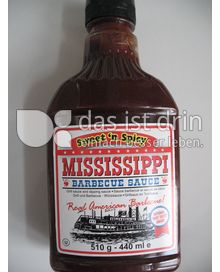 Produktabbildung: Mississippi Barbecue Sauce Sweet 'n Spicy 440 ml
