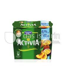 Produktabbildung: Danone Activia 0,1% Pfirsich-Maracuja 115 g