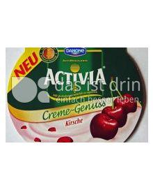 Produktabbildung: Danone Activia Creme-Genuss Kirsche 125 g