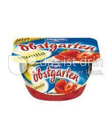 Produktabbildung: Danone Obstgarten Vanilla Erdbeere 125 g