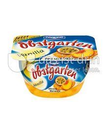 Produktabbildung: Danone Obstgarten Vanilla Pfirsich-Maracuja 125 g