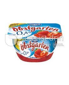 Produktabbildung: Danone Obstgarten 0,4% Erdbeere 125 g
