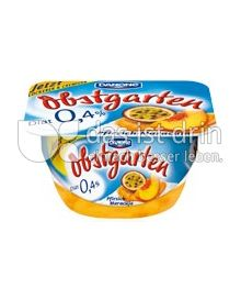 Produktabbildung: Danone Obstgarten 0,4% Pfirsich-Maracuja 125 g