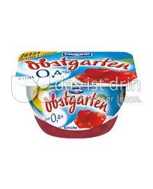 Produktabbildung: Danone Obstgarten 0,4% Kirsche 125 g