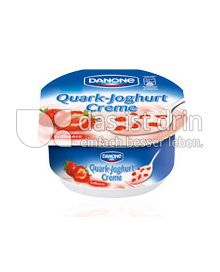 Produktabbildung: Danone Quark-Joghurt-Creme Erdbeere 180 g