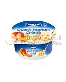 Produktabbildung: Danone Quark-Joghurt-Creme Pfirsich 180 g