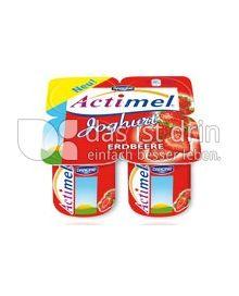 Produktabbildung: Danone Actimel Joghurt zum Löffeln Erdbeere 125 g
