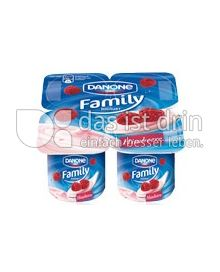 Produktabbildung: Danone Family Joghurt Himbeere 500 g
