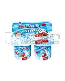 Produktabbildung: Danone Family Joghurt 0% Kirsche 500 g