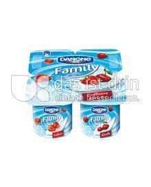 Produktabbildung: Danone Family Joghurt 0% Erdbeere 500 g
