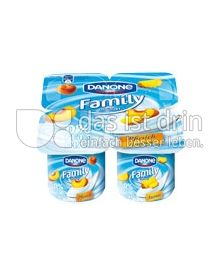 Produktabbildung: Danone Family Joghurt 0% Ananas 500 g