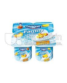 Produktabbildung: Danone Family Joghurt 0% Pfirsich 500 g