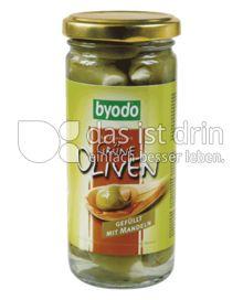 Produktabbildung: byodo Grüne Oliven 230 g