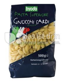 Produktabbildung: byodo Pasta Superiore Gnocchi Sardi 500 g