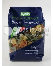 Produktabbildung: byodo Pasta Superiore Bunte Farfalle 250 g