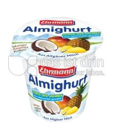Produktabbildung: Ehrmann Almighurt Mango-Ananas-Kokos 150 g