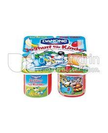 Produktabbildung: Danone Joghurt für Kinder Erdbeere-Banane 115 g