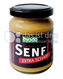 Produktabbildung: byodo Premium Senf extra Scharf 200 ml