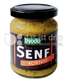 Produktabbildung: byodo Premium Senf Körnig 200 ml