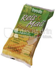 Produktabbildung: byodo Reis & Mais Knusperbrot mit Meersalz 200 g