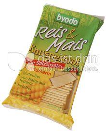 Produktabbildung: byodo Reis & Mais Knusperbrot ohne Salzzusatz 200 g