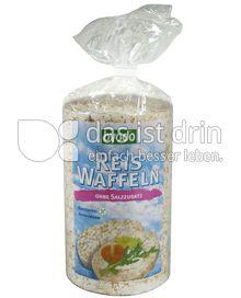 Produktabbildung: byodo Reis Waffeln ohne Salzzusatz 100 g