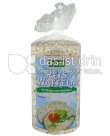 Produktabbildung: byodo Reis Waffeln mit Sesam und Meersalz 100 g