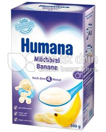 Produktabbildung: Humana Milchbrei Banane 500 g