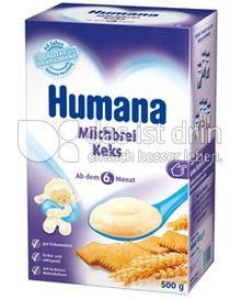 Produktabbildung: Humana Milchbrei mit Keks 500 g