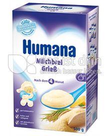 Produktabbildung: Humana Milchbrei Grieß 500 g