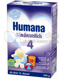 Produktabbildung: Humana Kindermilch 4 500 g