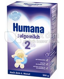 Produktabbildung: Humana Folgemilch 2 500 g