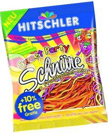 Produktabbildung: Hitschler Sweet Party Schnüre 230 g