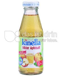 Produktabbildung: Kinella Milder Apfelsaft 200 ml