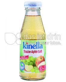 Produktabbildung: Kinella Traube-Apfel-Saft 200 ml