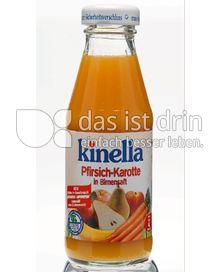 Produktabbildung: Kinella Pfirsich-Karotte in Birnensaft 200 ml