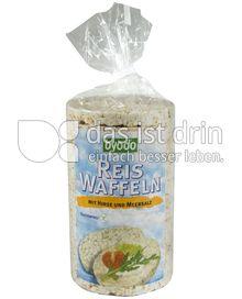 Produktabbildung: byodo Reis Waffeln mit Hirse und Meersalz 100 g